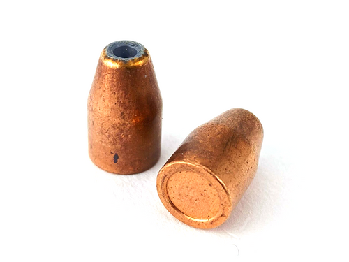 Zero 9mm 125 GR Conical Jacketed Hollow Point (JHP) Bullet Projectiles
