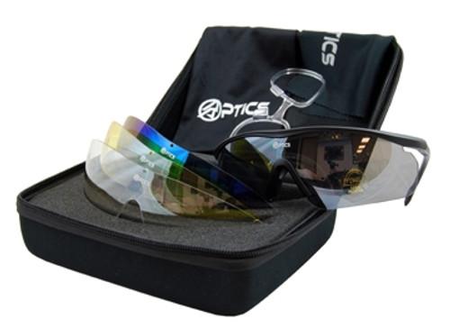 DAA Optics Model Lima Protective Eye Glasses by Double Alpha Academy