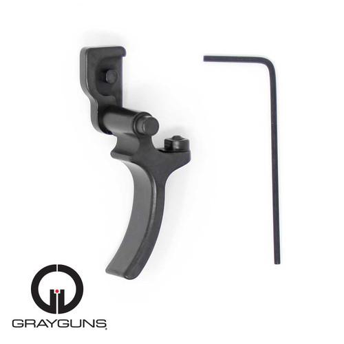 Sig P320 Adjustable Hybrid Trigger – Hard Duty Use by Gray Guns (TRG-SIG-320-AHT), greyguns