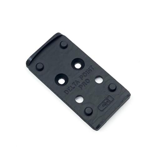 CHPWS Glock MOS V4 Leupold DPP DeltaPoint Pro Red Dot Adapter Plate GL-DPP