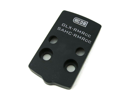 CHPWS Adapter Plate for GLOCK 43X / 48 MOS to RMRcc (GLX-RMRcc)