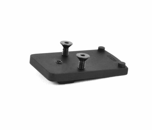 1911 Rear Sight Adapter Plate Red Dot Optic Mount for Trijicon RMR / SRO, Holosun 407C / 507C (49510)