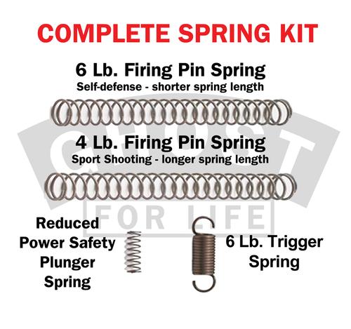 Ghost Inc Trigger Spring Kit For Glock Gen 1-5 (GHO-GCSCK)