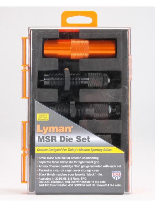 Lyman MSR Precision Reloading Die System