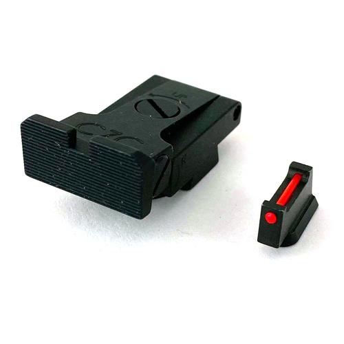 CZC CZ Shadow 2 Fiber Optic Front Sight & Adjustable Rear Sight Set by CZ Custom (10642)
