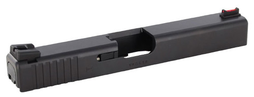 Dawson Precision Carry Sight Set Fiber Optic Front Sight & Fixed Charger Rear for Glock