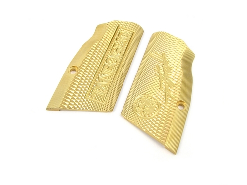EGD Xtreme EAA / Tanfoglio Witness Large Frame Brass Grips Pro Edition For Limited / Open by Eric Grauffel