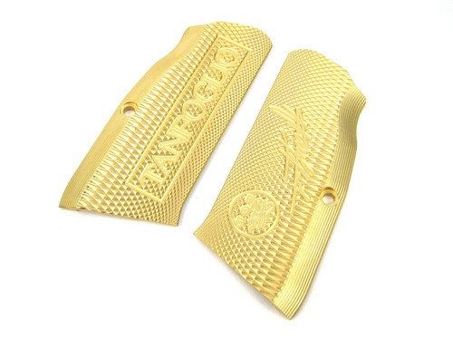 EGD Xtreme EAA / Tanfoglio Witness Large Frame Brass Grips Pro Edition by Eric Grauffel