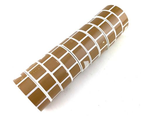 10,000 Tan Target Pasters - (10 Rolls)