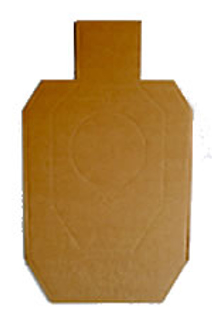 100 - IDPA Official Full Size Cardboard Targets