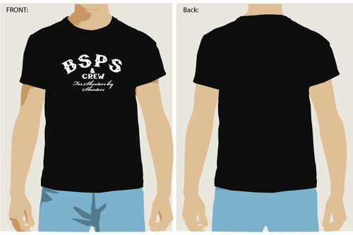 """BSPS """"For Shooters By Shooters"""" Ben Stoeger Pro Shop T-Shirt"""