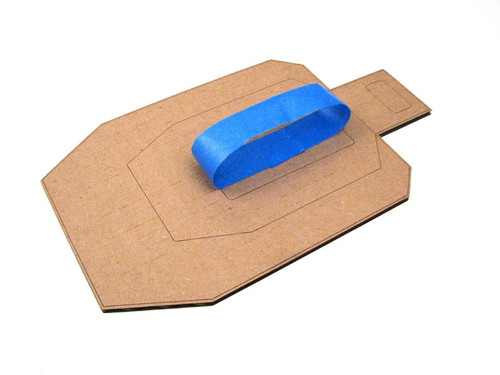 """1"""" x 60 yards Blue Painters Masking Tape for Dry-Fire Targets"""