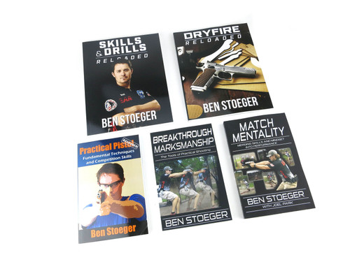 5 Book Combo Pack! Dry-Fire Training Reloaded, Practical Pistol Reloaded, Skills and Drills Reloaded, and Breakthrough Marksmanship, and Match Mentality Ben Stoeger