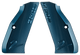 CZ Shadow 2 Factory Aluminum Grips Blue