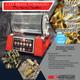 CED DAA Double Alpha Dynamics Brass Tornado Pro Series Wet Brass Tumbler