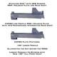 STACCATO DUO™ Ultra Low Profile RMR / SRO & Holosun 407c / 507c 508T Optics Adapter Plate for 2011 Pistols (STID-RSH)
