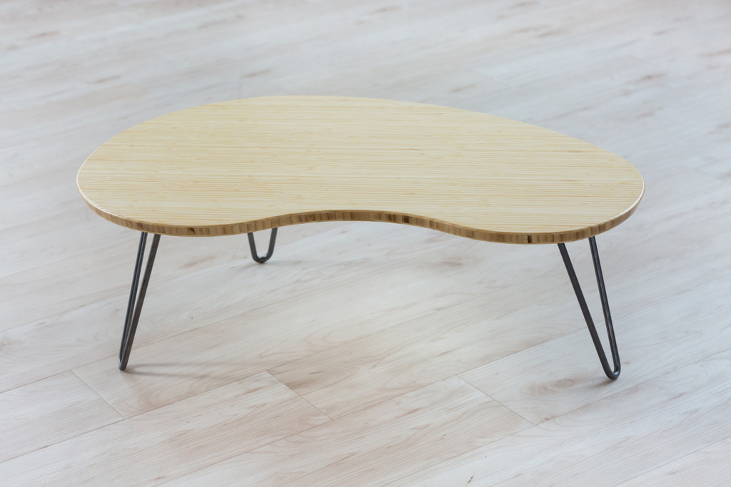 Natural Bamboo Flow Desk, Tria