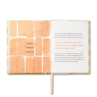 Inside of Kind of Wonderful, a guided journal.