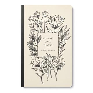 """My heart gives thanks…"" —William S. Braithwaite"