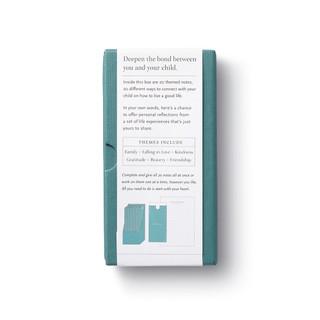 backside, beautiful green keepsake box, 20 themed letters