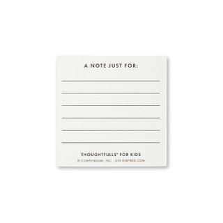 Back of I Love You ThoughtFulls card.