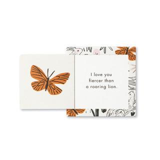 Inside of I Love You ThoughtFulls card.