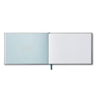 "Inside of ""In Memory Of..."" a memorial guest book."