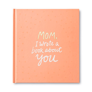 Front of Mom, I Wrote A Book About You, an activity gift book.