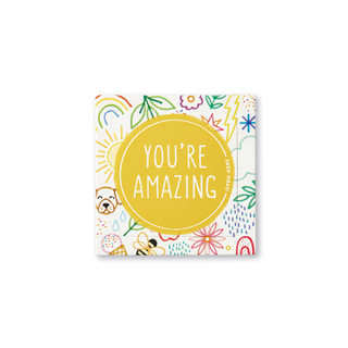 Front of single You're Amazing Kids Thoughtfulls card.