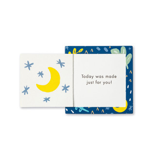Single You Can Do It Kids ThoughtFulls card with inside message showing.