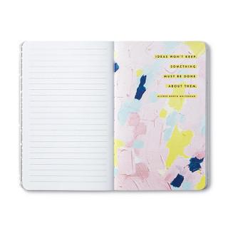 Inside of Write Now Journal.