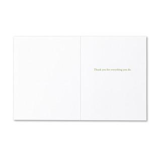 Inside of card.
