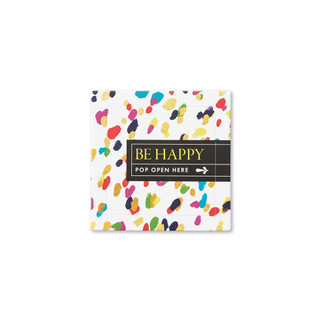 Front of Be Happy card.