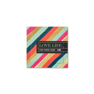 Front of Love Life card.