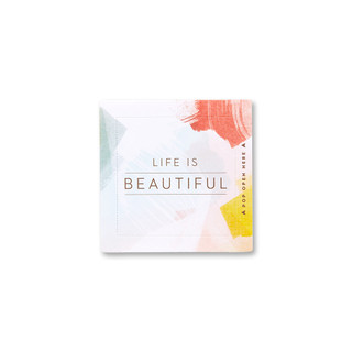 Individual Life is Beautiful card.