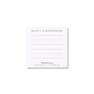 Back of Life is Beautiful card.