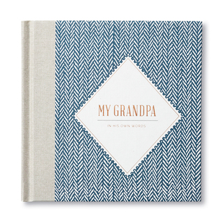 Front of My Grandpa - In His Own Words, an activity book.