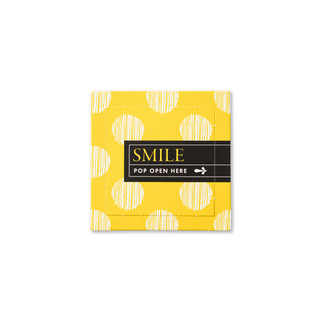 Front of Smile card.