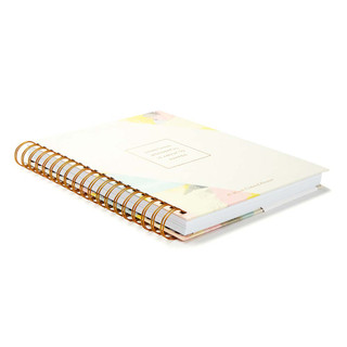 Front of Something Wonderful Is About to Happen, a 17-month undated planner.