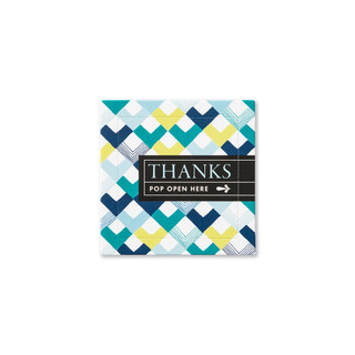 Front of Thanks card.