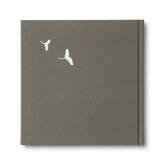 Back of In Loving Memory, a sympathy gift book.