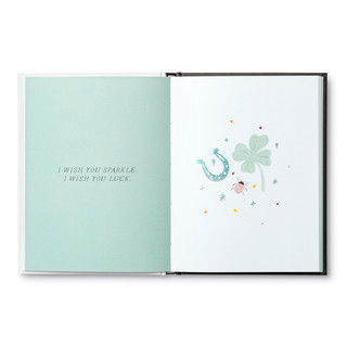 Inside of My Wish For You, a friendship gift book.