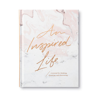 Front of An Inspired Life, a guided journal.
