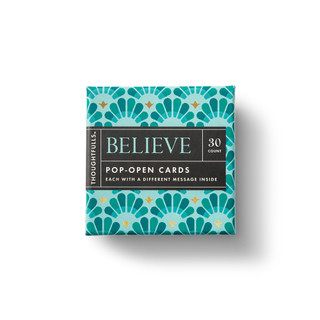 Front of Believe box.