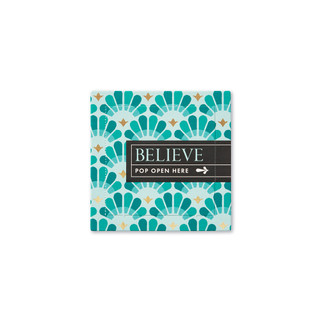 Front of Believe card.