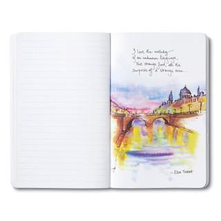 """Take me far, far away."" —Charles Baudelaire"