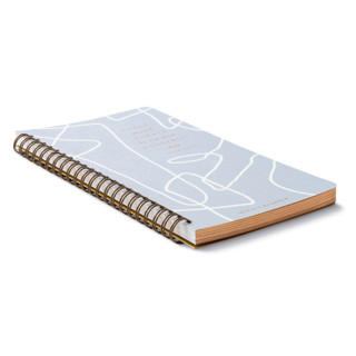 Front of planner.