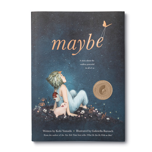 Front of Maybe, a children's illustrated book  by Kobi Yamada and Gabriella Barouch