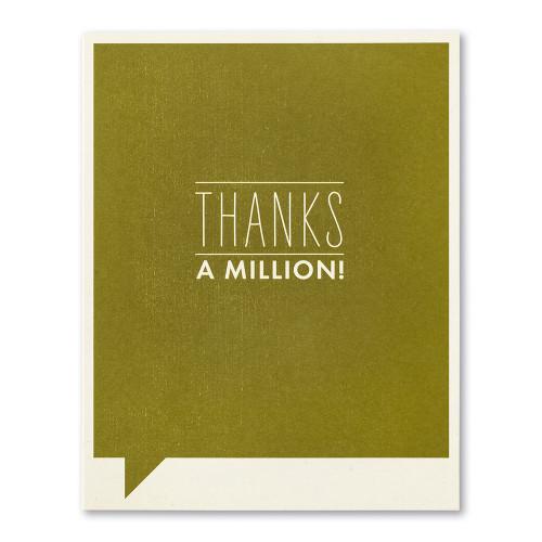 Thanks a million!