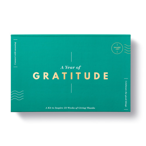 A Year of Gratitude